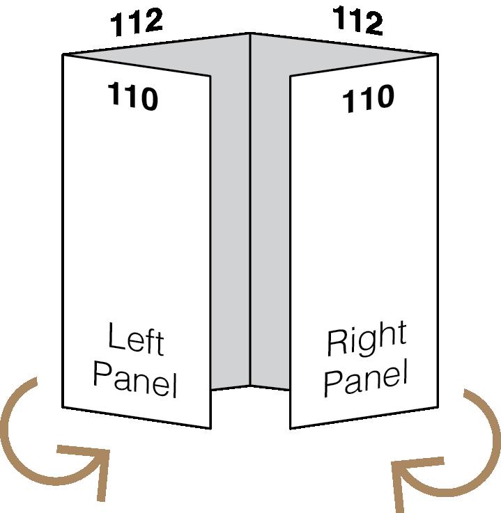 Designing for Folds - Setting up a Gatefold Pamphlet 02 Image