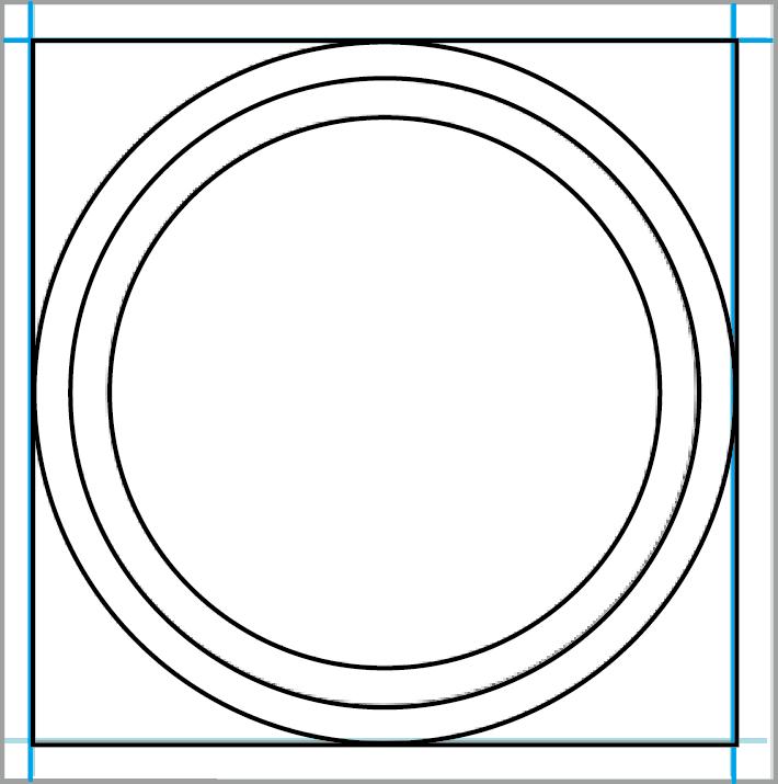 Photoshop Round Sticker