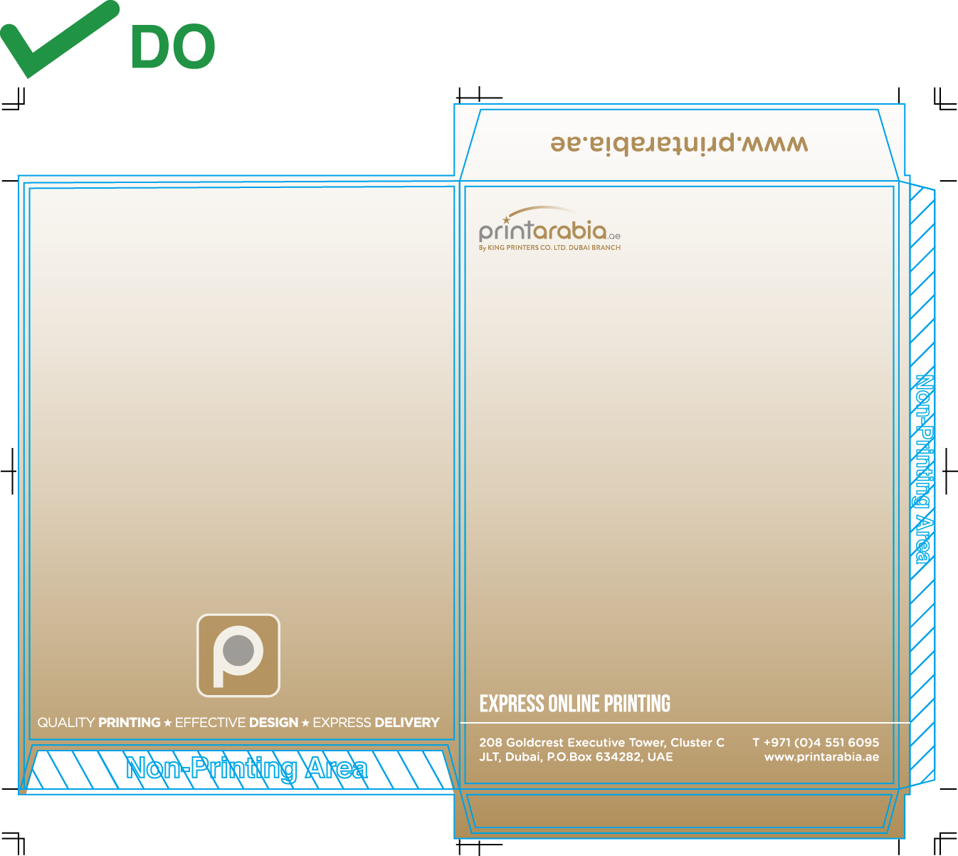 Custom Envelopes - Do's and Don'ts when laying out your design 04 Image